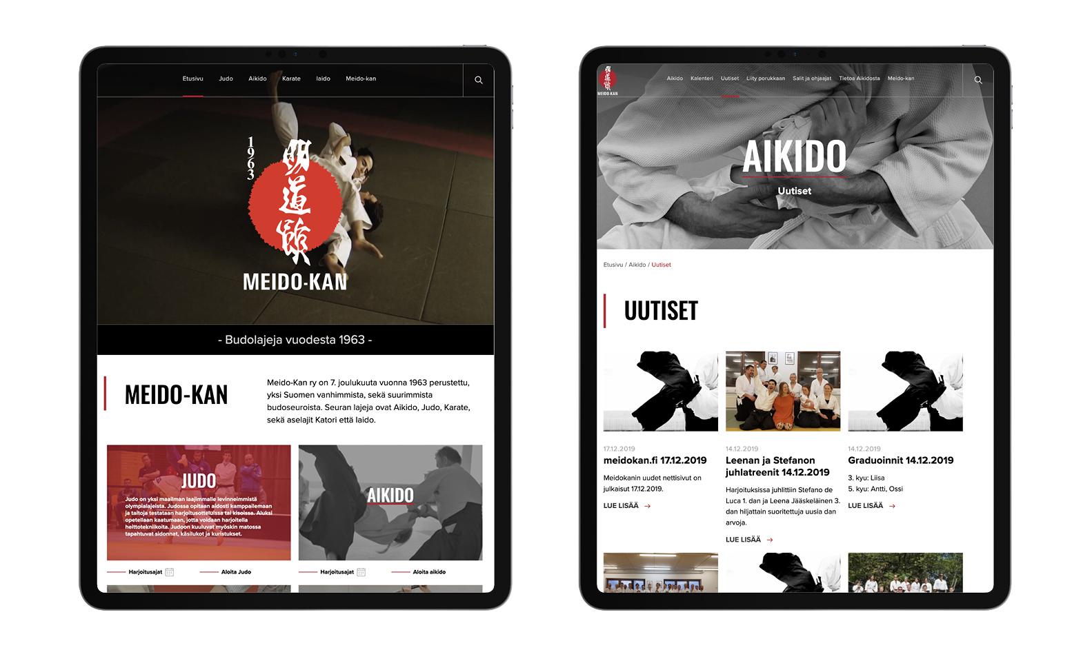 Meido-kan iPad